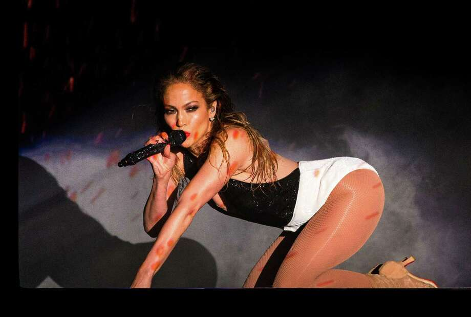 "Jennifer Lopez performs her ""Booty!"" song onstage at the 2014 American Music Awards in November. Photo: Christopher Polk /AMA2014 /Getty Images For DCP / 2014 Christopher Polk/AMA2014"