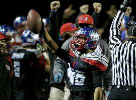 Clayton Valley safety Jake Peralta had two interceptions in the NCS title win over Concord.