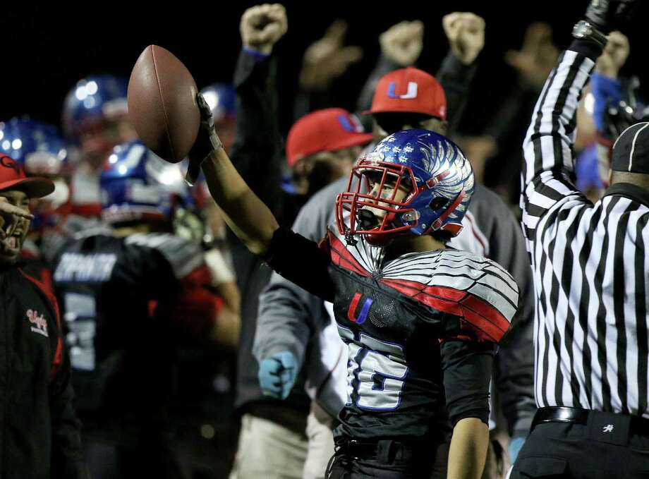 Clayton Valley safety Jake Peralta had two interceptions in the NCS title win over Concord. Photo: Dennis Lee / MaxPreps / 2014