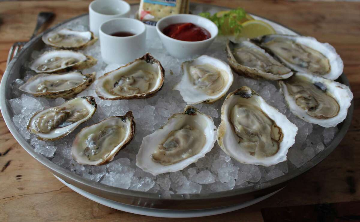 At Silo Terrace Oyster Bar, there's a daily selection of oysters on the half shell.