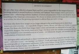 Statement found on UC Berkeley campus bulletin board on Dec. 14