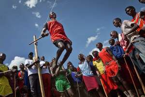 Maasai Olympics: Leaps replace lion hunting - Photo