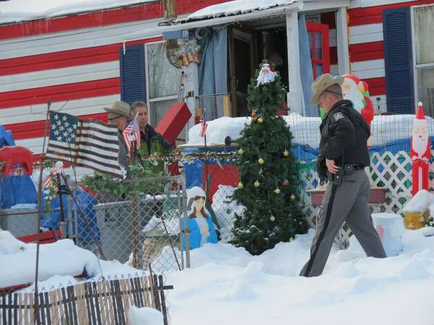 This is the home on Thacher Park Road in the town of Berne where two men wearing ski masks allegedly abducted 5-year-old Kenneth White. He is described in a state police Amber Alert as 3-foot-5, weighing about 45 pounds and with short brown hair. (Tom Heffernan Sr. / Special to the Times Union) Photo: Picasa