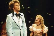 """SATURDAY NIGHT LIVE -- Episode 2 -- Pictured: (l-r) Will Ferrell as Jim, Cheri Oteri as Deb during """"Always & Forever"""" skit on October 7, 1995 --"""