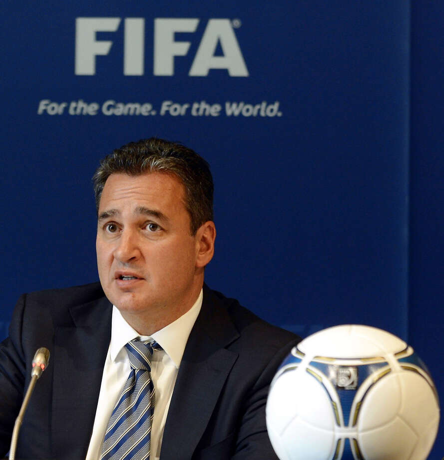 FILE - In this Friday, July 27, 2012 file photo, FIFA Ethics Committee member Michael Garcia attends a press conference in Zurich, Switzerland. Garcia, an American lawyer who led the investigation into the 2018 and 2022 World Cup bid process resigned from the FIFA ethics committee on Wednesday, Dec. 17, 2014,  in protest over the handling of his findings. (AP Photo/Keystone, Walter Bieri, File) Photo: Walter Bieri / Associated Press / KEYSTONE