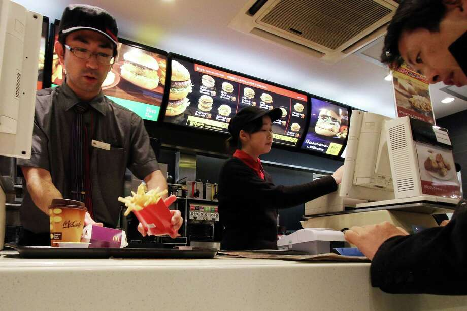 10. McDonald's Fry Cook: $8.07/hr.Source: Business Insider Photo: YOSHIKAZU TSUNO, Staff / AFP