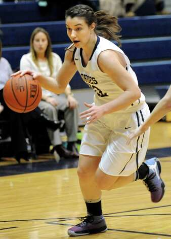 Cohoes' Nerea Brajac during their basketball game against Fonda on Thursday Dec. 18, 2014, at Cohoes High in Cohoes, N.Y. (Cindy Schultz / Times Union) Photo: Cindy Schultz / 00029920A
