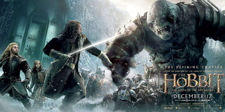 """The Hobbit: The Battle of Five Armies"" is the final film in the series adapting J.R.R. Tolkien's epic novel, ""The Hobbit."" Photo: Contributed Photo / Westport News"