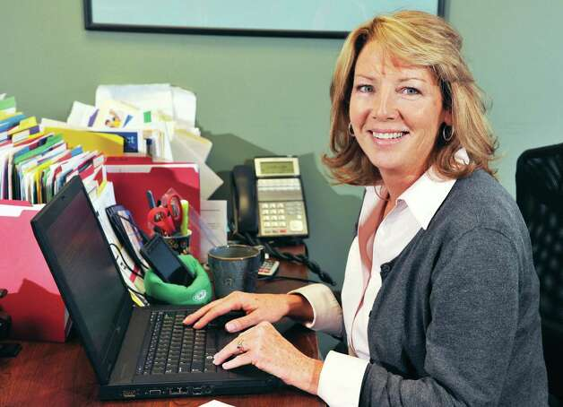 Tech Valley Connect president Angela McNerney. Photo: John Carl D'Annibale, John Carl D'Annibale / Women@Work / 00029423A
