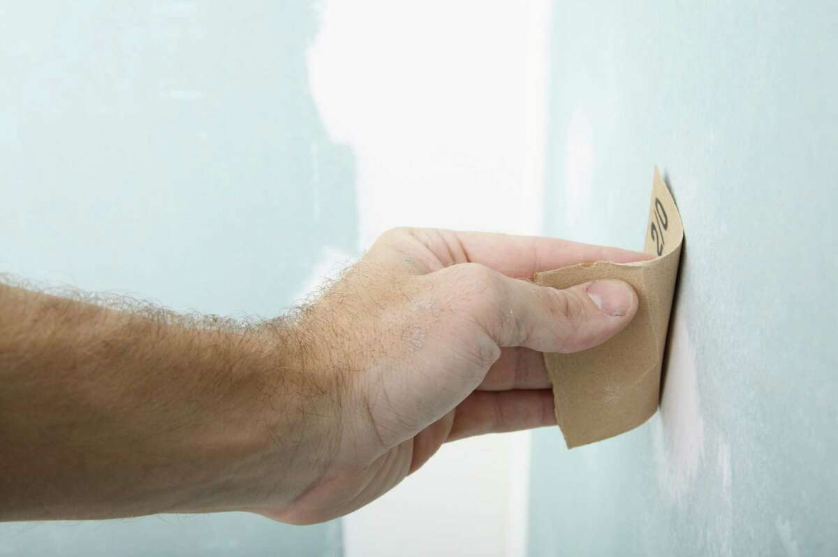 Minor cracks in drywall can be filled, sanded and repainted rather quickly. DIY - Drywall