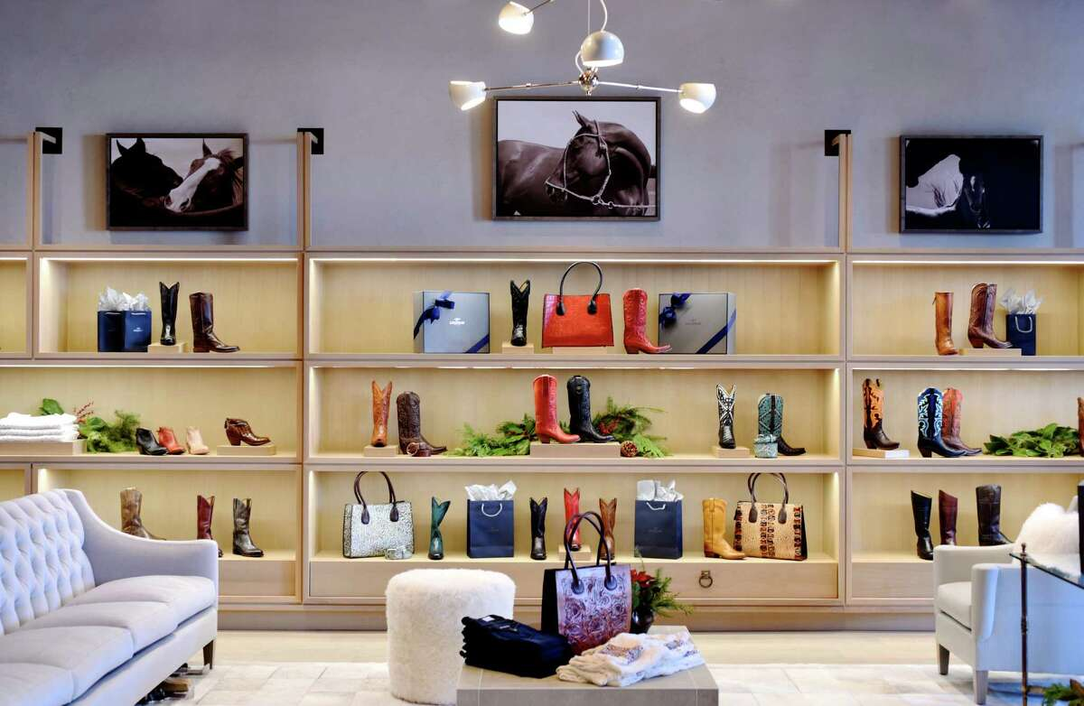FASHION: The new Lucchese boutique in Highland Village.