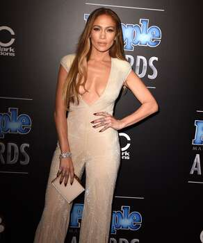 Jennifer Lopez arrives at the The PEOPLE Magazine Awards at The Beverly Hilton Hotel on December 18, 2014 in Beverly Hills, California. Photo: Steve Granitz, WireImage