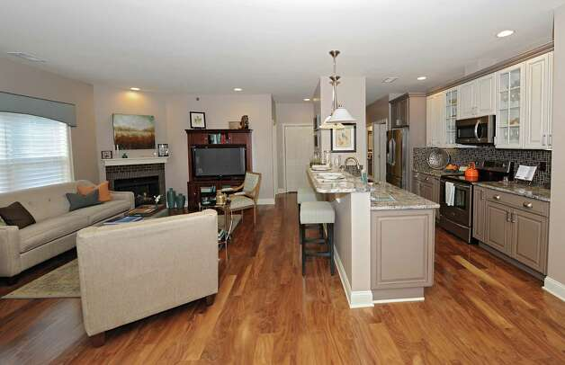 Interior of one of the units in the newly built Mill Hollow Condominiums on Thursday, Dec. 4, 2014 in Guilderland, N.Y. (Lori Van Buren / Times Union) Photo: Lori Van Buren / 00029697A