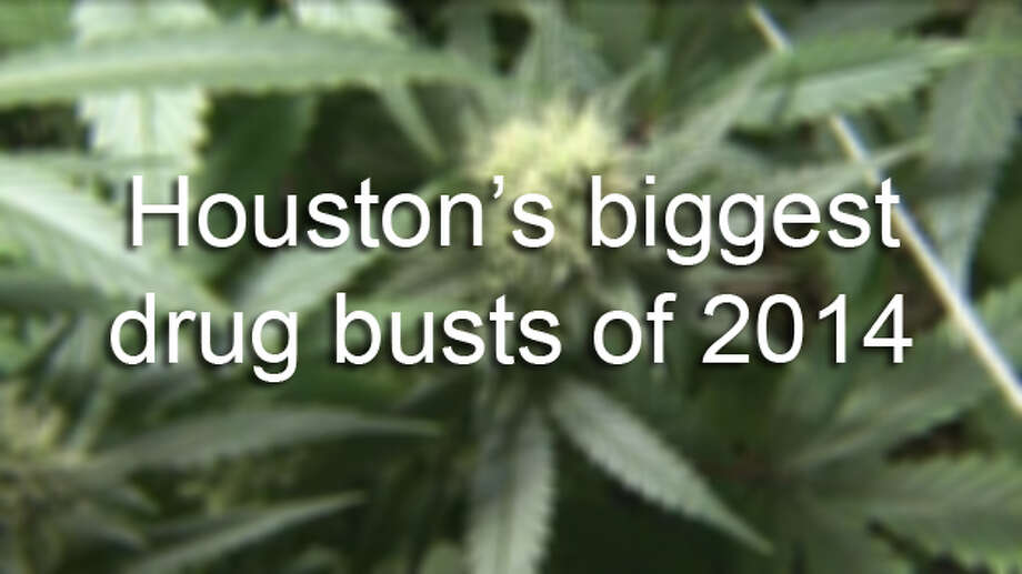 These are the biggest Houston-area drug busts of 2014. Photo: Houston Chronicle