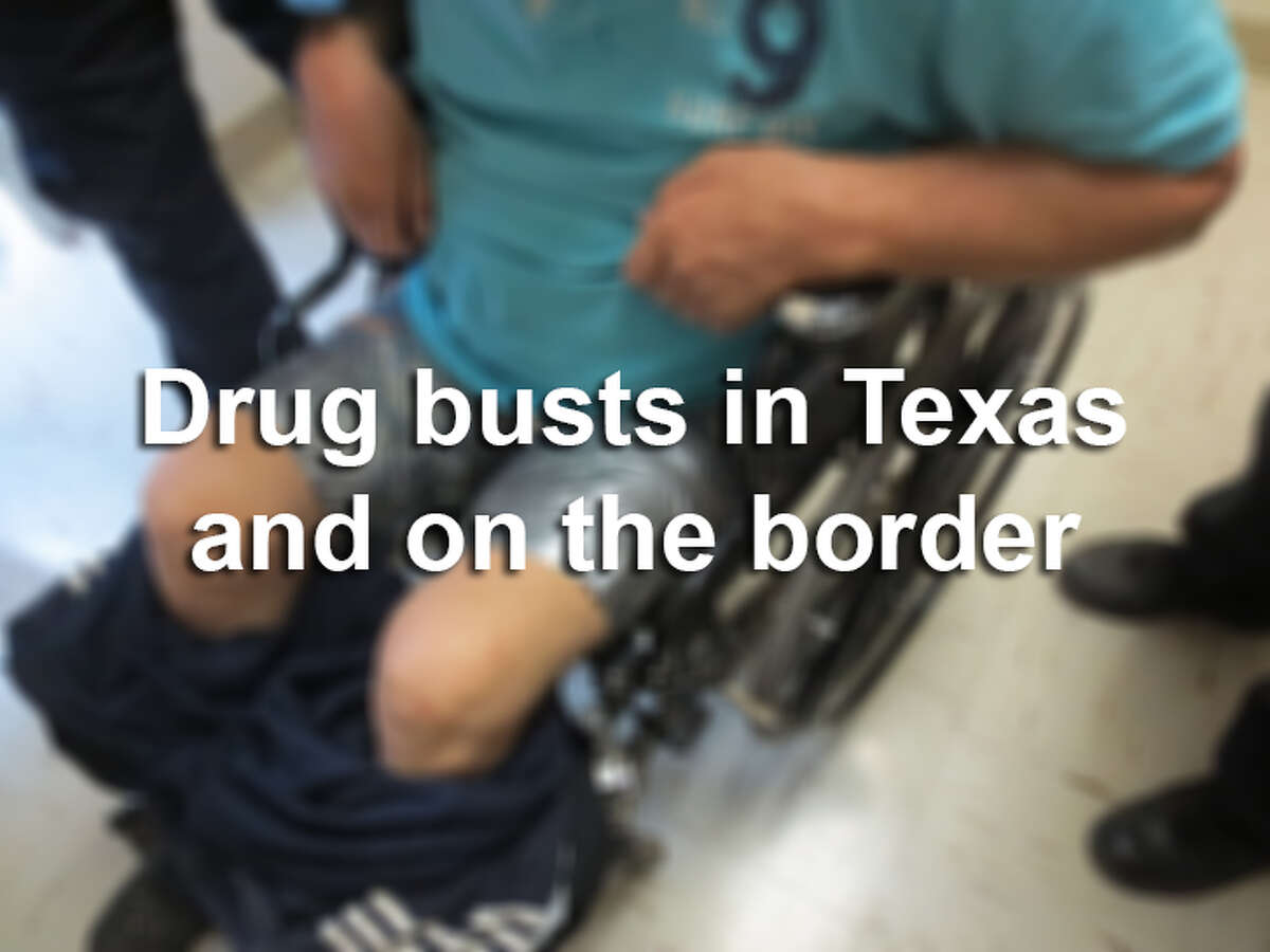 2014 was a crazy year for drug busts in Texas and on the border. Scroll through to see just how much drug runners tried to smuggle this year.