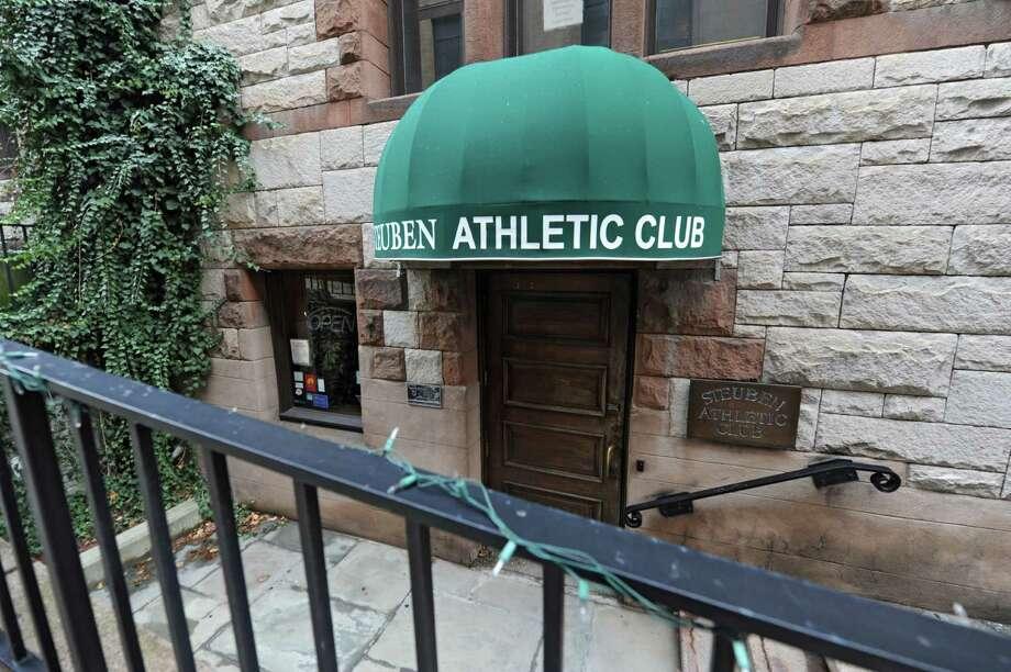 Exterior of the Steuben Athletic Club on Thursday Dec. 18, 2014 in Albany, N.Y. (Lori Van Buren / Times Union) Photo: Lori Van Buren / 00029924A