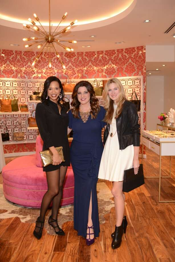 Mia Gradney (KHOU Channel 11), Elaine Turner and Carly Lee (C. Style) (Mia and Carly were hostesses) Photo: Daniel Ortiz