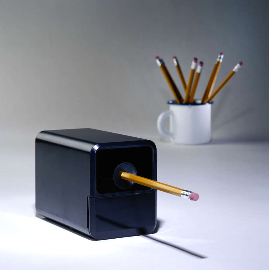 """... my supervisor would yell loudly from her desk in her office, three feet from me, ""Sarah, come sharpen my pencils!"" The electric pencil sharpener was in the middle of the office near our mail boxes so I would walk from my desk outside her door, collect her pencils, sharpen them, then take them back to her desk. She had a manual sharpener by her desk that she didn't like to use."" Photo: Spike Mafford/Getty Images / (c) Spike Mafford"