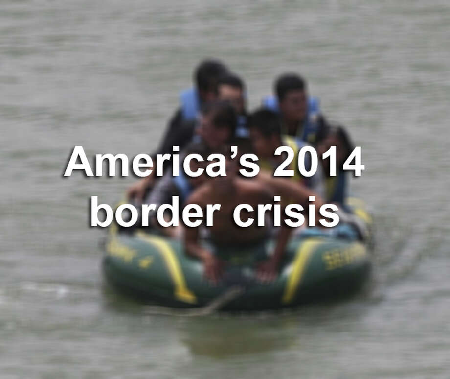 America's 2014 border crisis. Photo: Jerry Lara, Express-News File Photos / ©2014 San Antonio Express-News