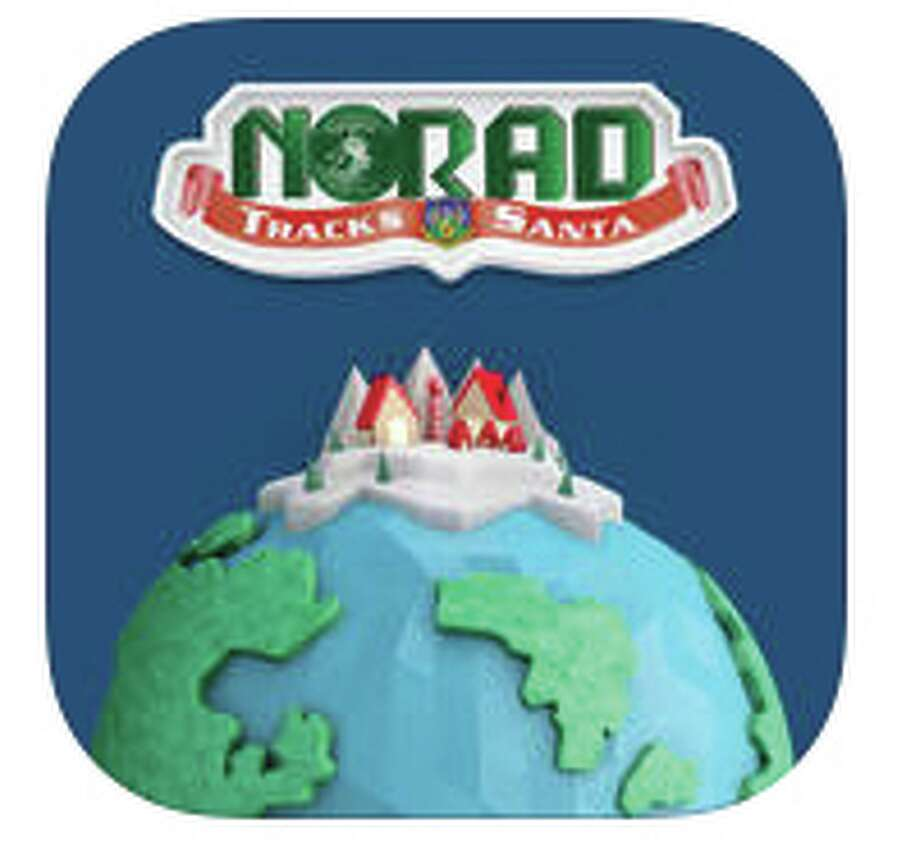 NORAD Santa app