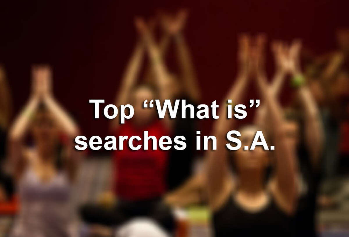 """Top trending """"What is"""" questions in 2014 in S.A."""