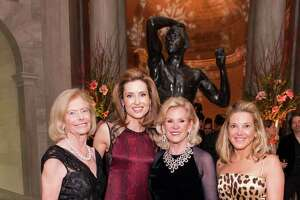 Marion Cope, Kate Harbin Clammer, Dede Wilsey and Kathryn Lasater at FAMSF's An Elegant Evening in the Court of Honor on December 10, 2014.
