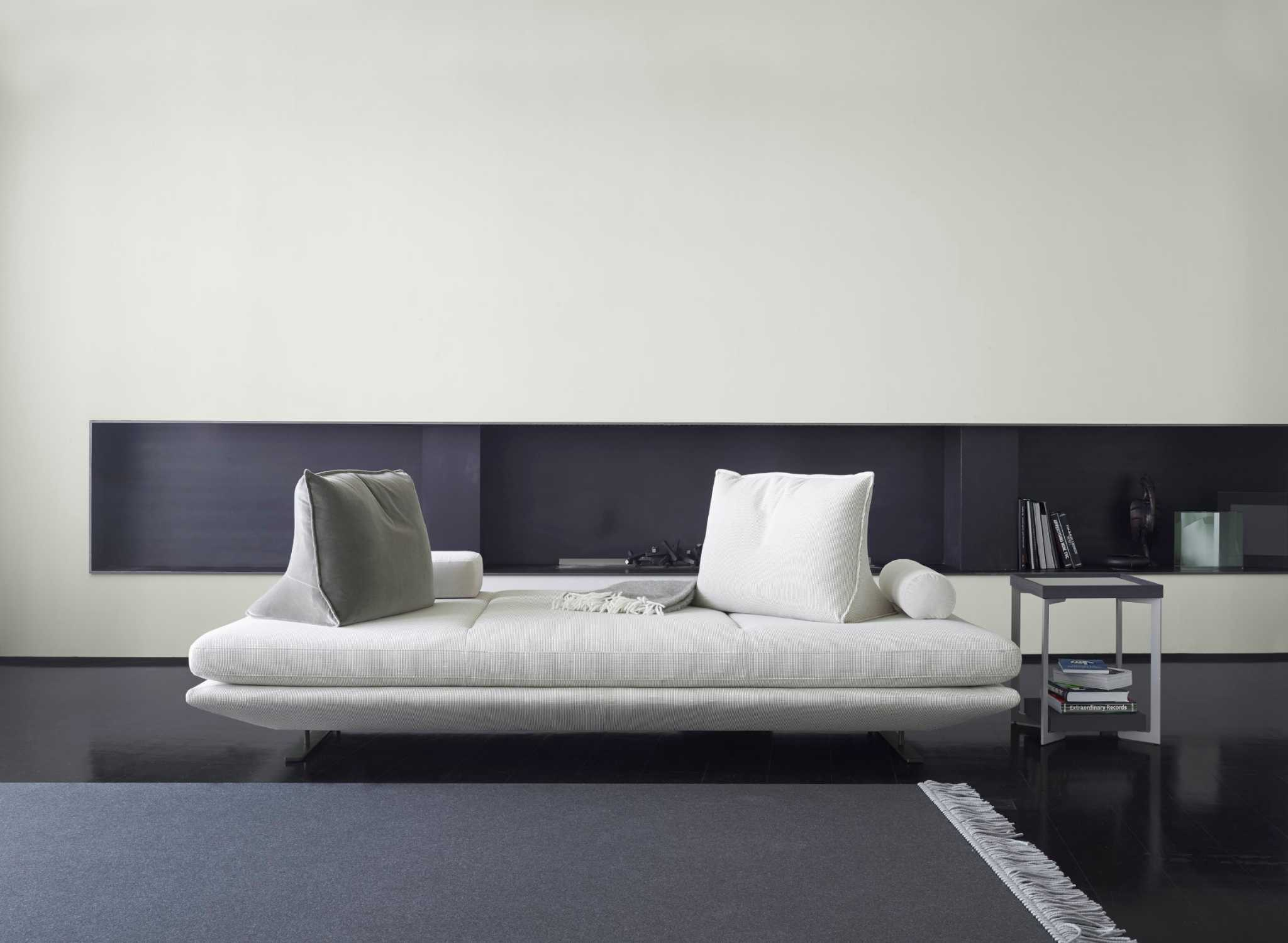 in store now ligne roset 39 s prado sofa is 2014 39 s hot seat. Black Bedroom Furniture Sets. Home Design Ideas