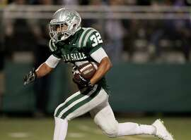 De La Salle junior Andrew Hernandez leads the Spartans with 27 touchdowns. He has gained 1,632 yards on the ground and has eight 100-yard rushing games.