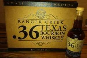 Ranger Creek previously has released .36 Bourbon Whiskey small-caliber series that has been aged 9 months in small oak barrels.