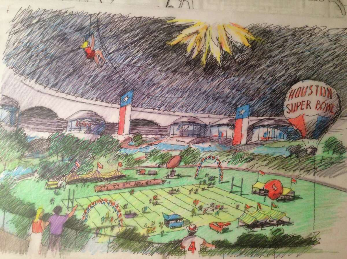 The latest proposal for the aging Astrodome calls for converting the structure into an indoor park and civic space, including an indoor grassy lawn and an outdoor promenade.