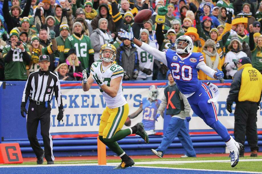 Corey Graham (20), defending Green Bay's Jordy Nelson (above), and the Bills' defense have shut down two of the best quarterbacks. Photo: Brett Carlsen / Getty Images / 2014 Getty Images