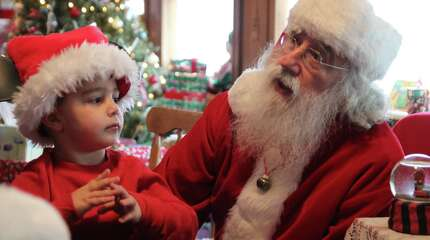 Santa stopped by the Danbury Railway Museum on December 20, 2014 to take kids on a holiday train ride. Were you SEEN on Santa's Express?
