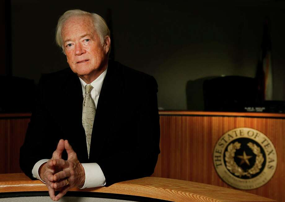 """County Judge Alan Sadler plans to pursue interests such as painting and beekeeping in retirement, but may also do some consulting. """"It will be hard to stay on the sidelines,"""" he says. Photo: James Nielsen, Staff / © 2014  Houston Chronicle"""