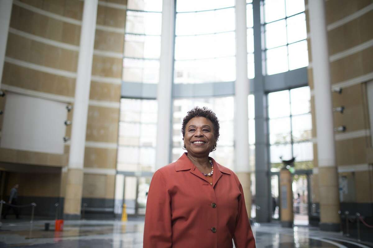 East Bay Congresswoman Barbara Lee has been working toward normalization with Cuba since 1978. She is photographed at the Federal Building in Oakland, Calif. on Thursday, December 18, 2014.
