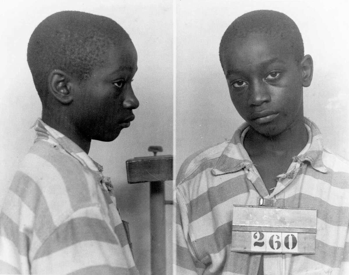 This undated file photo provided by the South Carolina Department of Archives and History shows George Stinney Jr., the youngest person ever executed in South Carolina, in 1944. A South Carolina state judge, in a Dec. 7, 2014 ruling, vacated Stinney's conviction in the deaths of two young girls, clearing his name. AP story: Judge: Boy, 14, shouldn't have been executed in SC