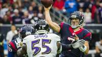 Texans stonewall Ravens to keep slim playoff hopes alive - Photo