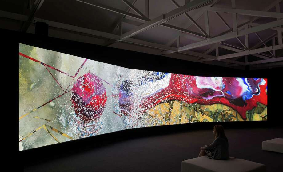 "Shahzia Sikander's ""Parallax,"" a 15-minute digital animation piece, is a recent acquisition of the Linda Pace Foundation. Photo: Photo Courtesy Mark Menjivar"