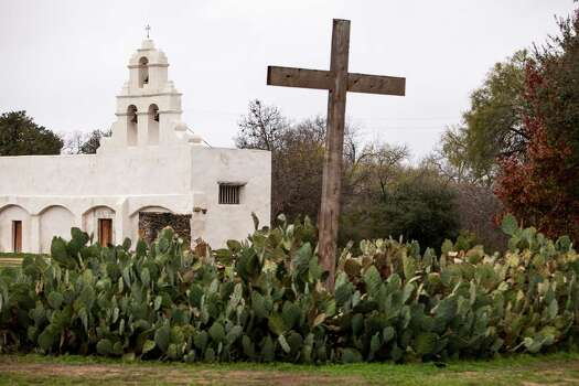 Mission San Juan, located in south San Antonio in Missions National Historic Park on Dec. 21st, 2014. Photo: Spencer Selvidge For The San Ant / Spencer Selvidge / Copyright 2014, Spencer Selvidge for the San Antonio Express-News