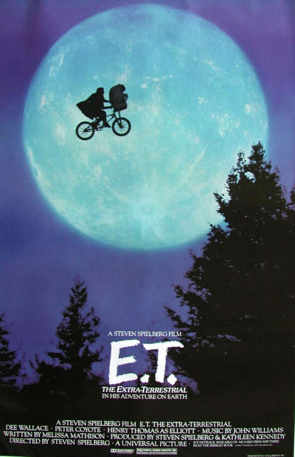 "Steven Spielberg's feel-good classic ""E.T. The Extra-Terrestrial"" will be screened Tuesday afternoon, Dec. 30, as part of a week-long family film festival at the Westport Library. Westport CT. December 2014. Photo: Westport News/Contributed Photo / Westport News"