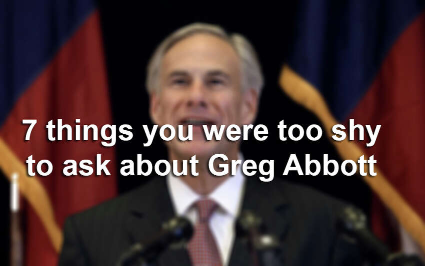 Click through the slideshow to find answers to seven questions you were too shy to ask about Greg Abbott.