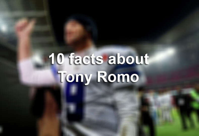 With many flicks of the wrist, quarterback Tony Romo became the all-time leading passer for the Dall