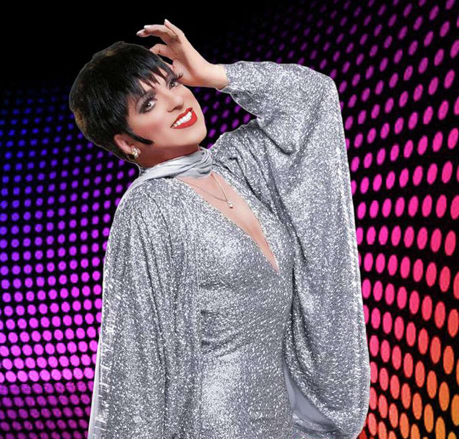 Sammy Gonzales as Liza Minnelli. Photo: Courtesy Photo