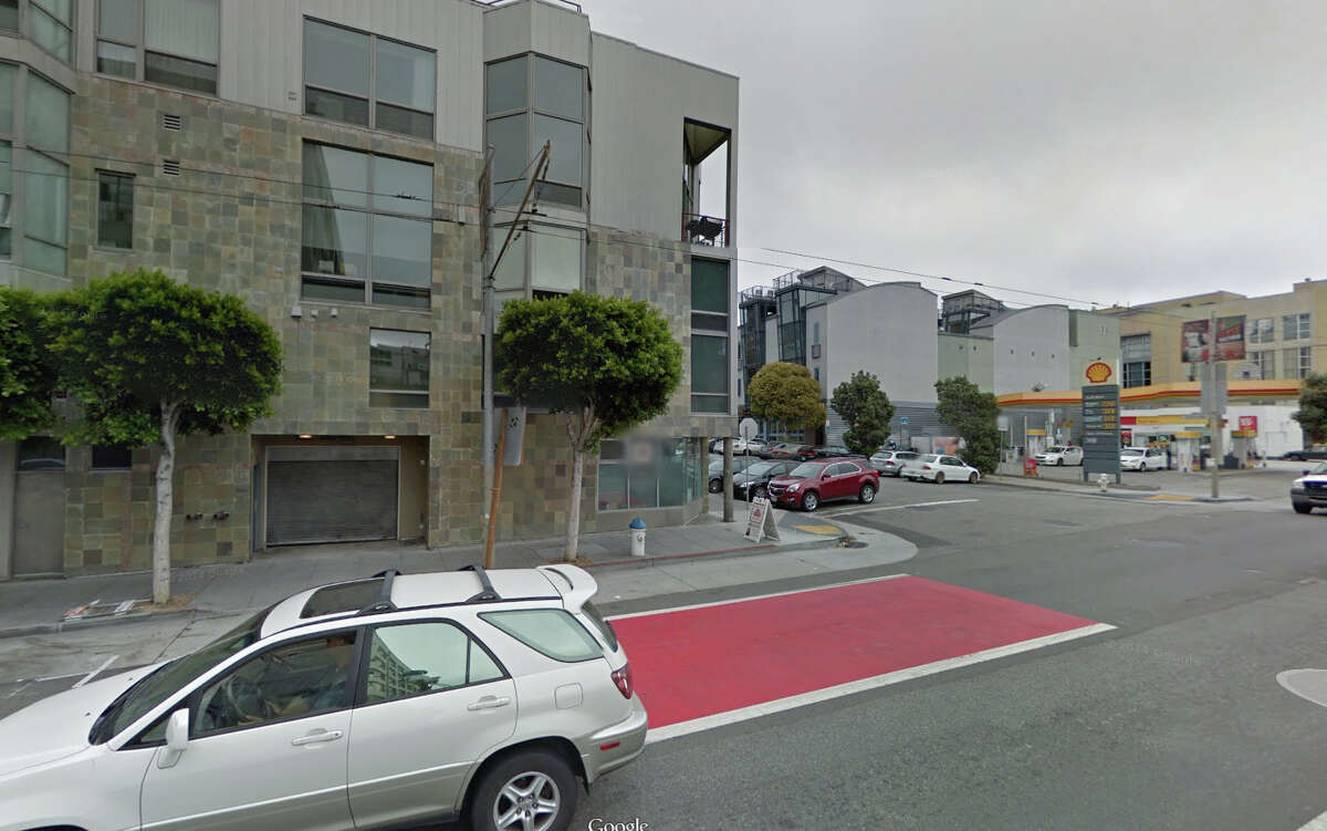 A homeless man sleeping outside a San Francisco private parking garage near 3rd Street and South Park Street was killed this weekend by an SUV.