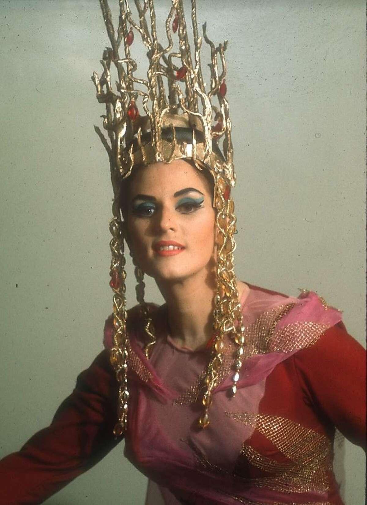 "Janis Martin as Venus in Wagner's ""Tannhäuser"" at the San Francisco Opera, 1966"
