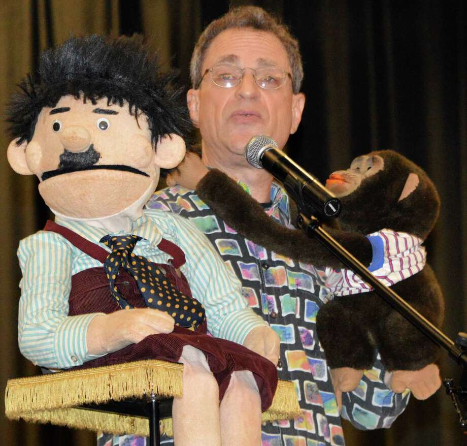 Ventriloquist Jonathan Geffner will be back in Westport Wednesday evening to help First Night revelers bid farewell to 2014 and usher in 2015. Photo: Jarret Liotta / Westport News contributed
