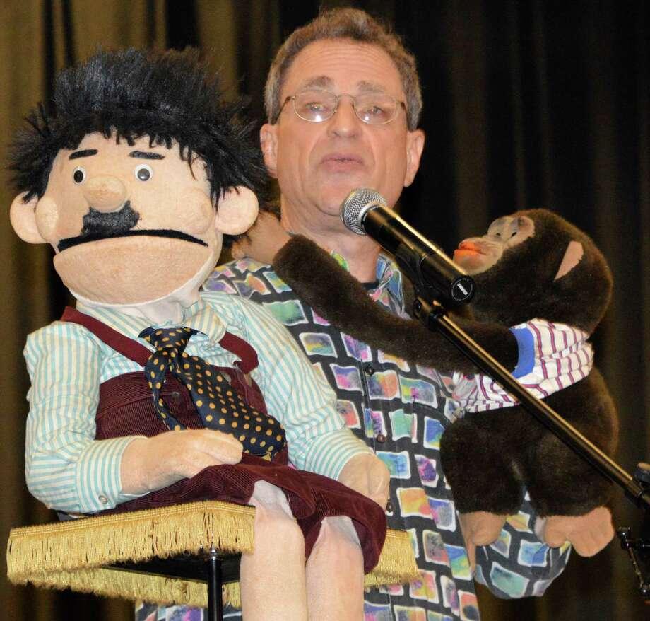 Ventriloquist Jonathan Geffner will be back in Westport Wednesday evening to help First Night revelers bid farewell to 2014 and usher in 2015. Photo: Jarret Liotta / Westport News contributed