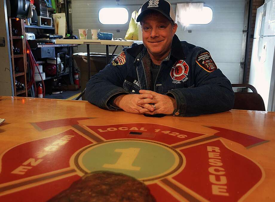 Fire Lt. Bob Smith is focusing his energies on the two-year-old Fairfield Fire Fighters Charitable Foundation. Photo: Genevieve Reilly / Fairfield Citizen