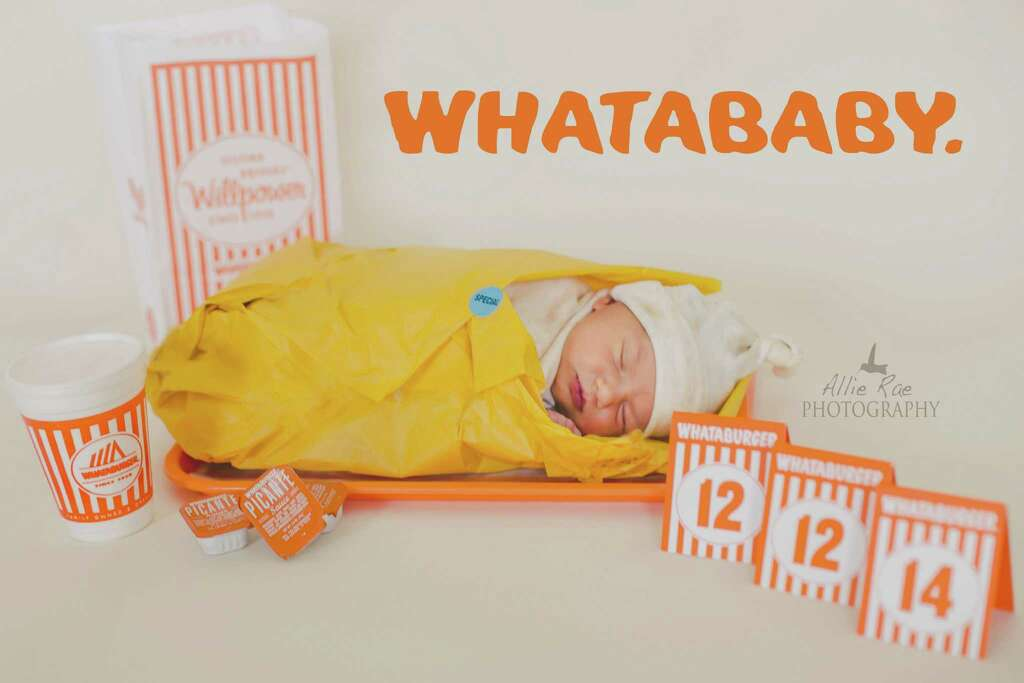 Obsess over all things WhataburgerNext to honey butter chicken biscuits, cute bundles of joy can also be a great joy. Photo: Courtesy/Allie Rae Photography / Allie Rae Photography http://www.photosbyallierae.com