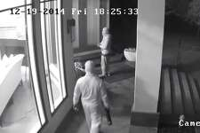 Bexar County Sheriff's deputies are searching for two men who burglarized a home on the North Side last week.