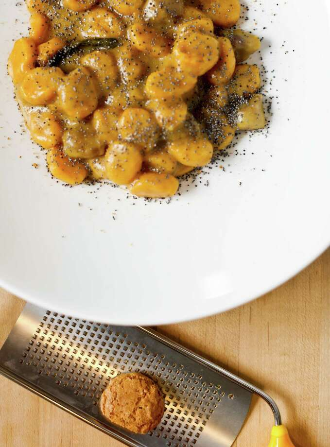Chef Anthony Strong's Squash Gnocchi with Amaretti Crumbs. Photo: Russell Yip / The Chronicle / ONLINE_YES